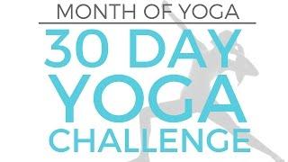 Intro // Month Of Yoga - 30 Day Yoga Challenge