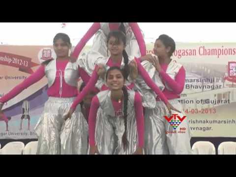 VTV- ALL INDIA INTER UNIVERSITY YOGA CHAMPIONSHIP, BHAVNAGAR