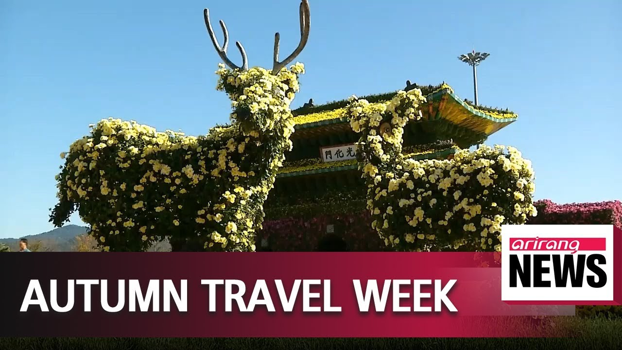 'Autumn Travel Week' kicks off to promote Korea's beautiful autumn scenery