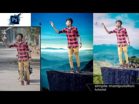 Outdoor portrait manipulation | Photoshop Cc Tutorial(In Tam