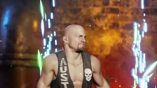 WWE 2K Battlegrounds Stone Cold Steve Austin vs The Rock