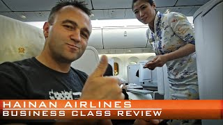 Hainan Airlines Business Class Review on the Boeing 787 Dreamliner