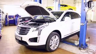 Cadillac XT5  -  Установка защитной сетки в бампер.