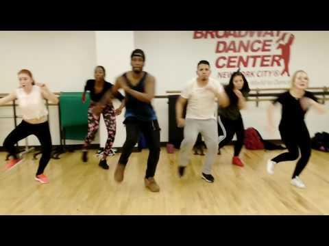 Aidonia Krazy Dancehall Class