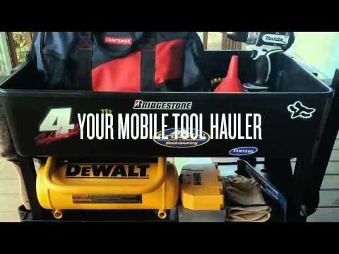 4 Wheel Mechanic Garage Cart Great for...