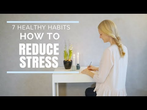 How to Reduce Stress Healthy Habits for a Simpler Life you can do Everyday