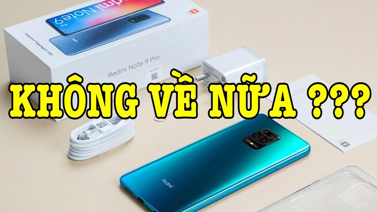 Tư vấn điện thoại Redmi Note 9 Pro Max KHÔNG VỀ VIỆT NAM ???