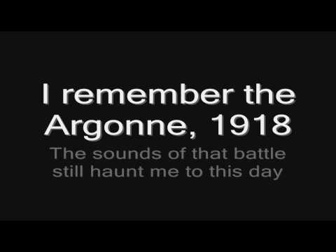 Sabaton - Diary Of An Unknown Soldier (lyrics) HD