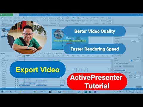 How To Export Video Recording - ActivePresenter Tutorial