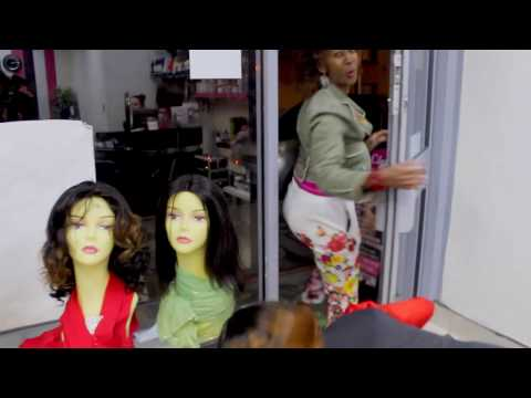 SCANDAL IN THE SALON - African comedy