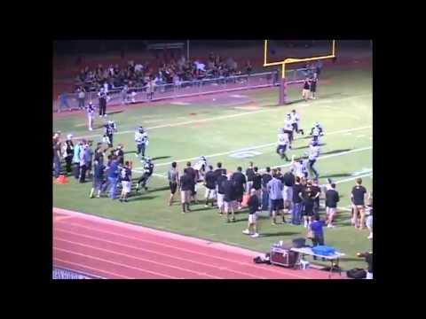 #9 WR Tyler Eggers Hamilton High School Senior Football Highlights Class of 2013