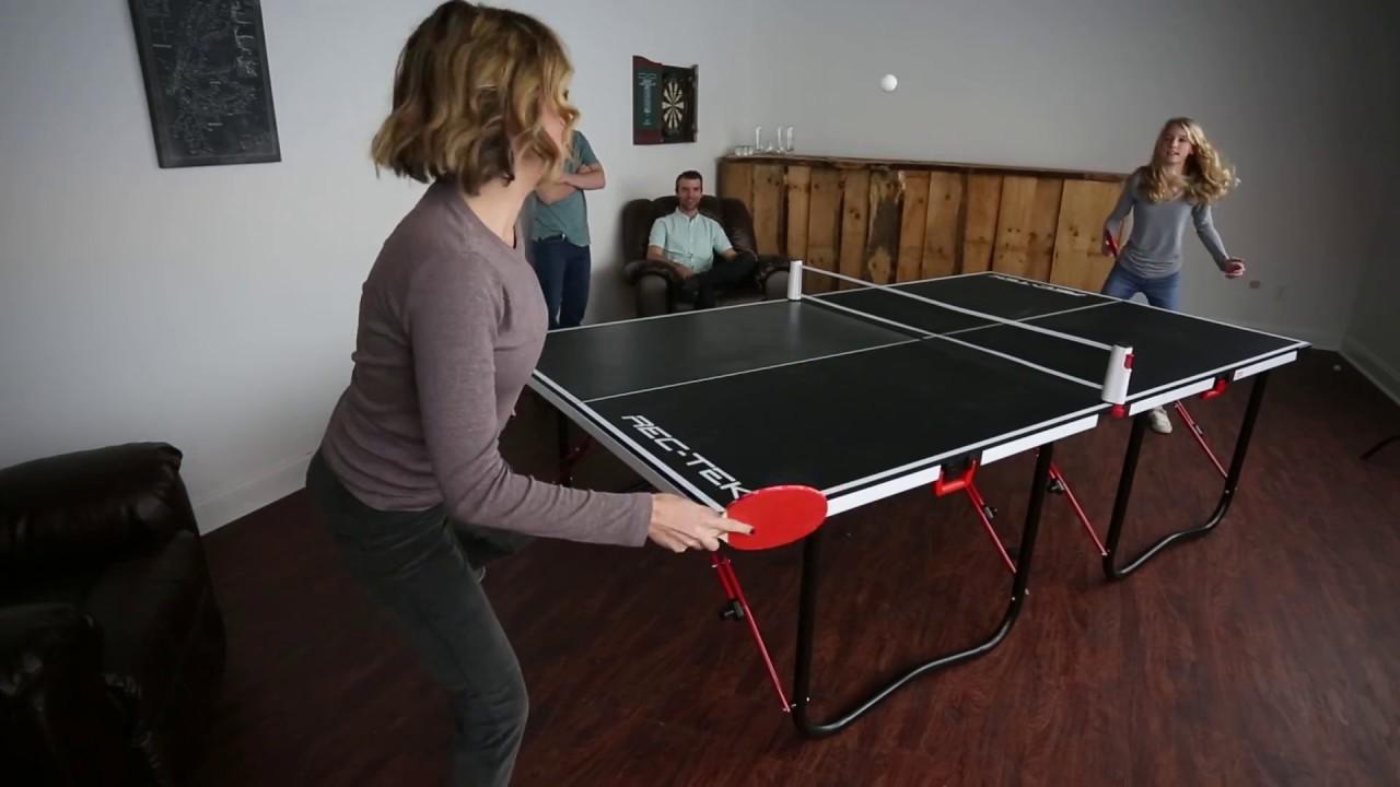 Rec Tek Fold N Store Table Tennis Table 15mm