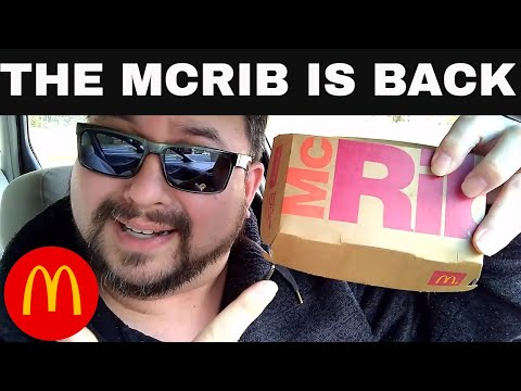 McDonald's McRib is Back for 2018