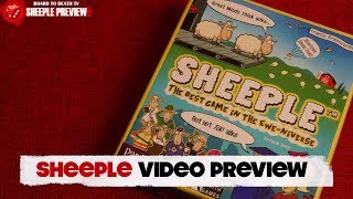Sheeple Party Game Preview