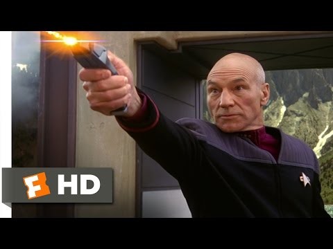 Star Trek: Insurrection (4/10) Movie CLIP - Holographic Ship (1998) HD