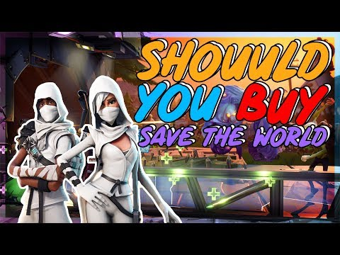 Should You Buy Fortnite Save The World In 2018 (Full Review)