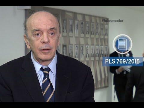 #falasenador: José Serra comenta aprovação das novas normas para uso do tabaco