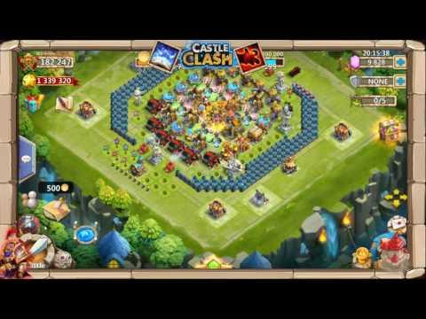 Castle Clash Stream: Best Crest Combo In Castle Clash!?