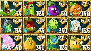 All Premium Plants Power-Up! in Plants vs Zombies 2