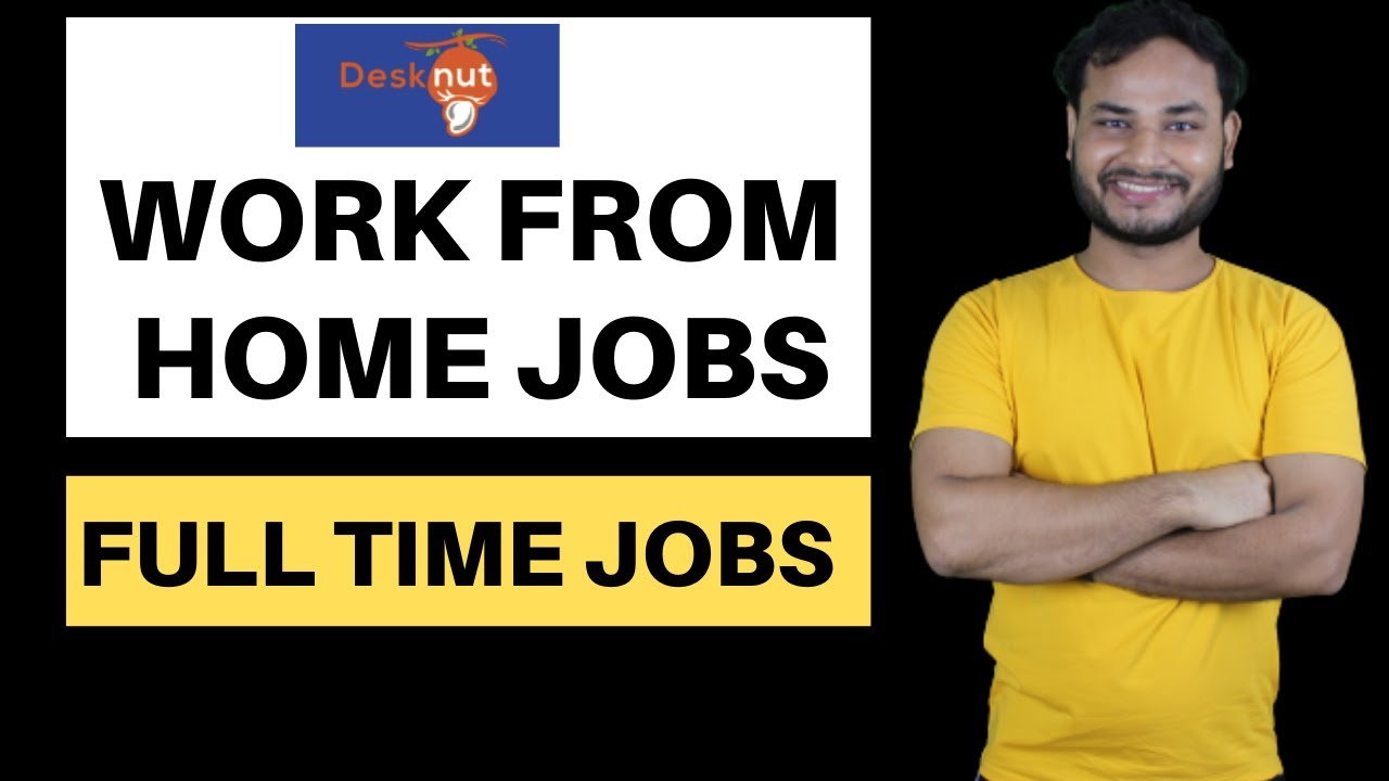 Work from home jobs | For Work From Home | Jobs | Part-time jobs online | Online Job Fair