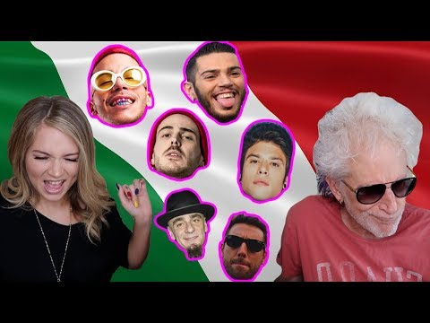 AMERICANS FIRST TIME REACTING TO ITALIAN RAP ft. MY DAD | Worldwide Wednesdays EP. 1