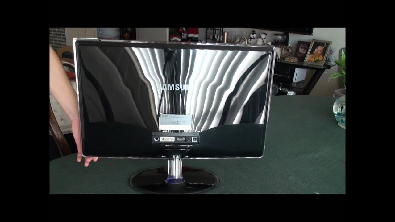 Samsung 23'' SyncMaster XL2370-1 LED Monitor Review - YouTube