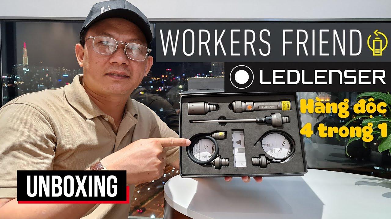 HÀNG CỰC ĐỘC: ĐÈN PIN LEDLENSER 4 IN 1 | LEDLENSER WORKERS FRIEND UNBOXING (Video quay = Sony ZV-1)