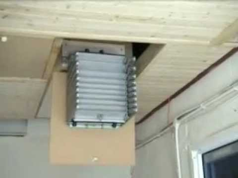 Concertina Loft Ladder Youtube