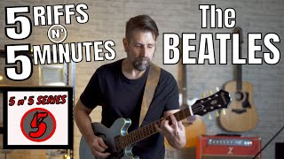 5 Easy (but AWESOME) Beaтles Riffs You Can Learn Right NOW!