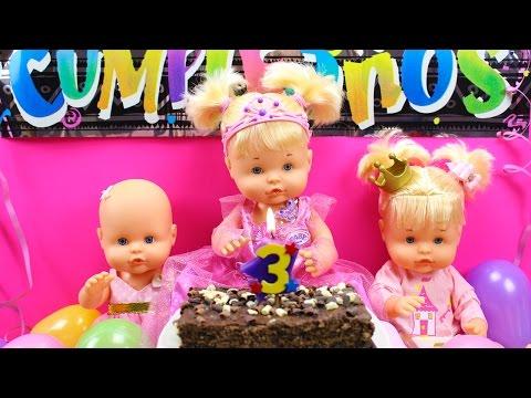 Aventuras de las Beb�s Nenuco Hermanitas Traviesas | Fiesta de Cumplea�os de la Beb� Nenuco Naia