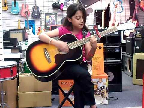 ONE TIME-playing guitar & singing at Georgia Music Warehouse, Savannah, GA