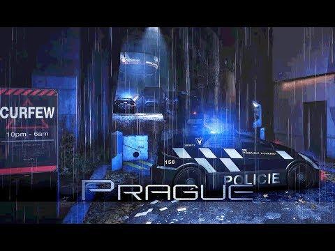 Deus Ex: Mankind Divided - Prague: Čistá District Curfew 1 Hour of