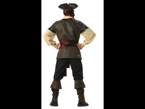 Theatrical Quality Rustic Pirate Adult Costume