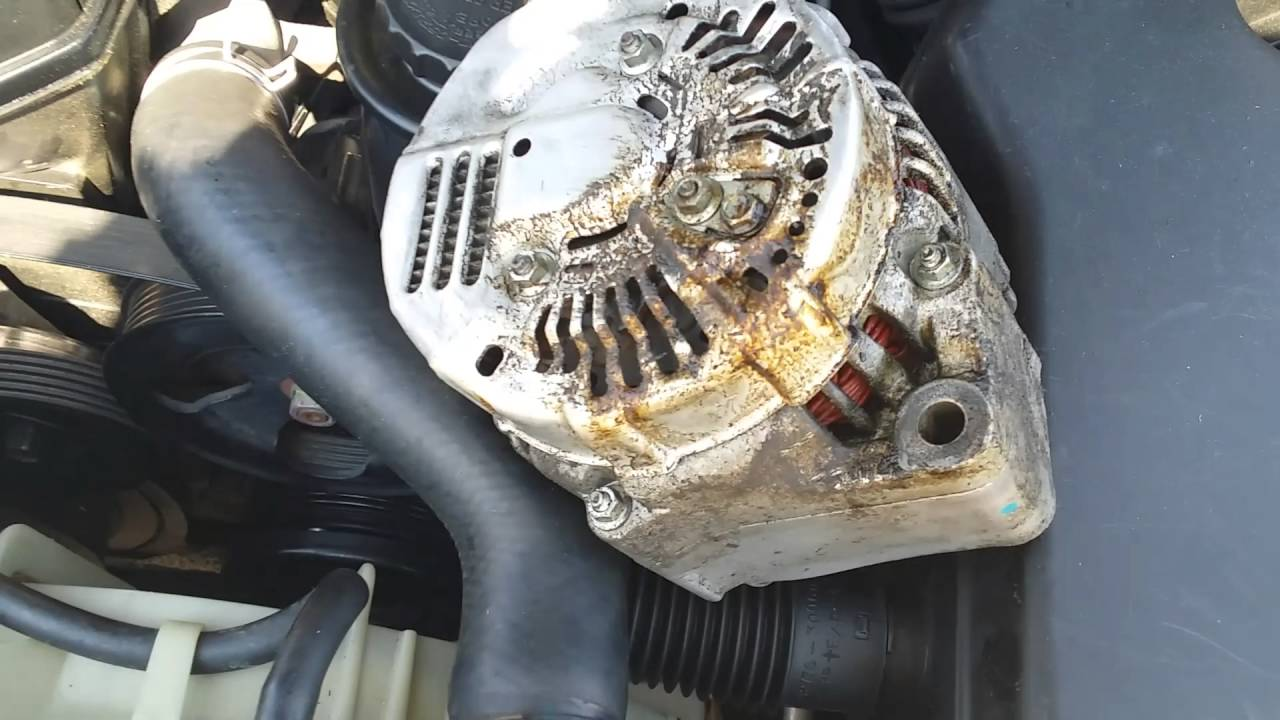 how to put a alternator on a 2002 lexus gs 300 hd [ 1280 x 720 Pixel ]