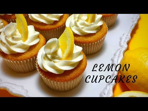 Lemon Cupcakes- Easy & Delicious Lemon Cupcakes With Buttercream Frosting