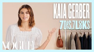 Every Outfit Kaia Gerber Wears in a Week | 7 Days, 7 Looks | Vogue