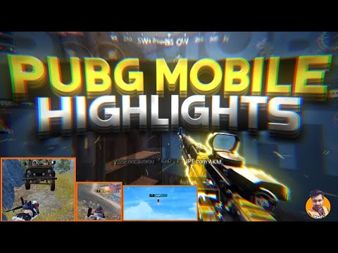 pubg-mobile-highlights---funny-moments,-best-gameplay,-flare-dance,-op-grenades,-1v4-clutch