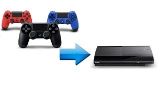 Tuto : utiliser une manette PS4 sur PS3 / Tuto : use your PS4 controler on your PS3