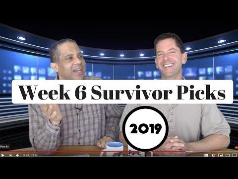 2019 NFL Survivor Pool Picks Week 6