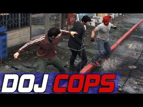Dept. of Justice Cops #524 - Guardian Angel