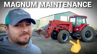 NO MORE LEAKS|Overdue repairs on our CASE IH 7140 MAGNUM