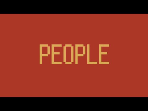 """PEOPLE 1 """"PEOPLE"""" (Official Video)ㅤㅤㅤㅤ"""