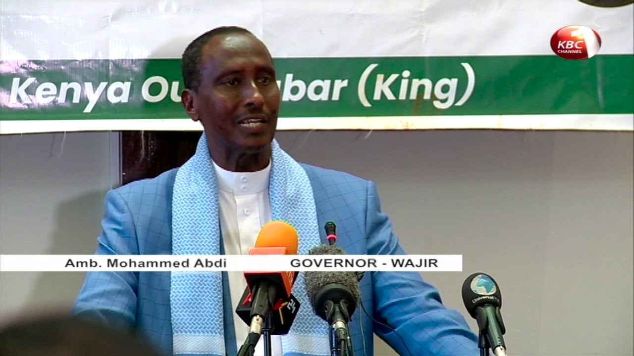 Download Visiting Degodia King Wabar challenges Northern Kenya residents to foster cross boarder peace