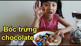 Ăn Thử Và Cảm Nhận Trứng Chocolate Blue Sea Bóc Trứng Chocolate Ăn Thử Và Cảm Nhận