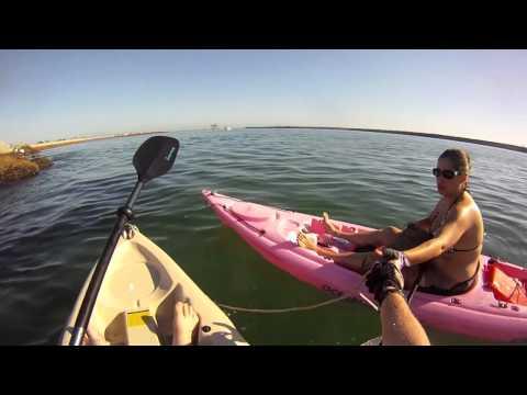 Kayaking Newport Harbor
