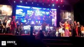 Dance.tv / BOTY South Asia 2014 - S.I.N.E vs Metro Grooverz - Final HD