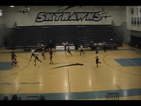 1st Half Summit High School Freshman Girls Basketball  Vs Fontana 1/12/17