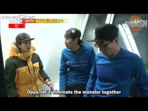 Image of: Kwang Soo Youtube Running Man 228 Funny Scene Catching Monster Youtube