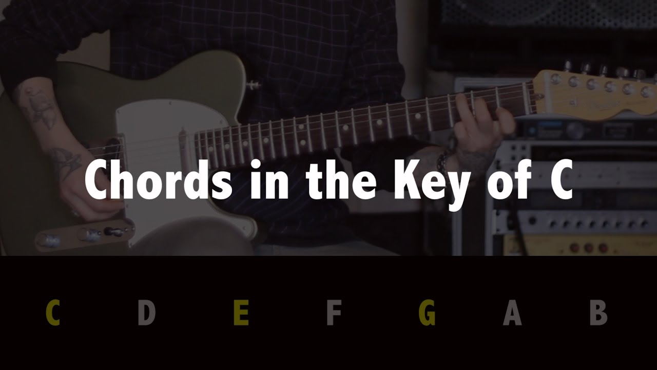 Guitar Tips Tricks 24 Chords In The Key Of C Jen Trani Youtube