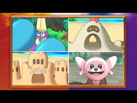 New Pokémon Are Ready for Adventure in Pokémon Sun and Pokémon Moon!